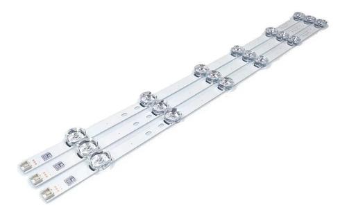 kit barra led lg 32lf565b 32lf585b 32lf550b 32lf595b 32lb560