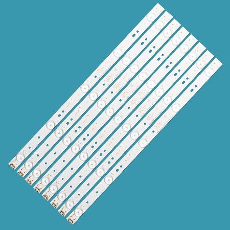 kit barra led philco ph43e30-ph43e30dsgw - 8 barras novas