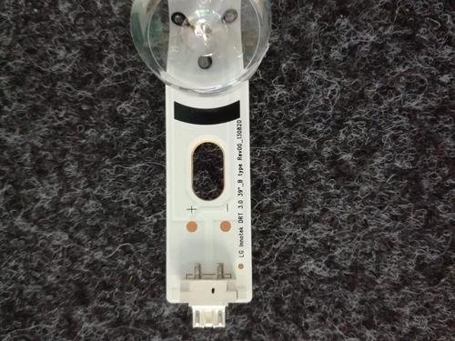 kit barra led tv lg 39lb5600 39lb5800 39lb6500 original novo
