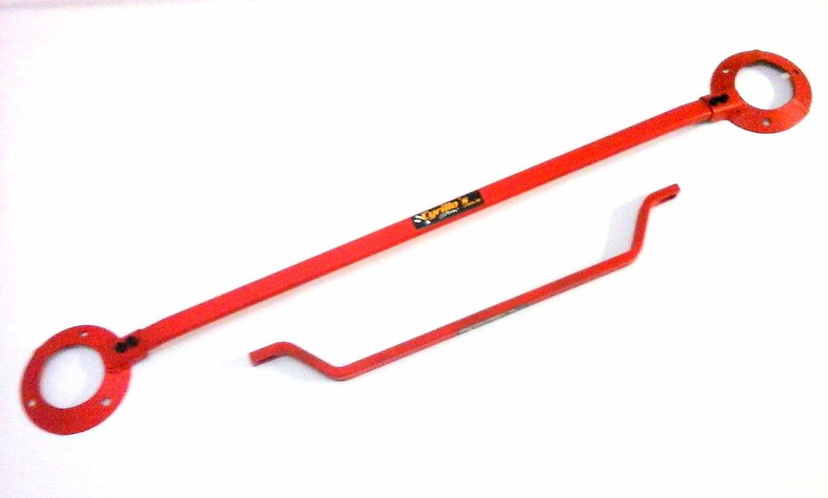 kit barra tor o superior inferior reta vermelha gol 86a96