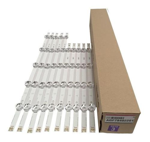 kit barras de led tv lg 49lb6200 49lb5500 49lf5500 49lf6200