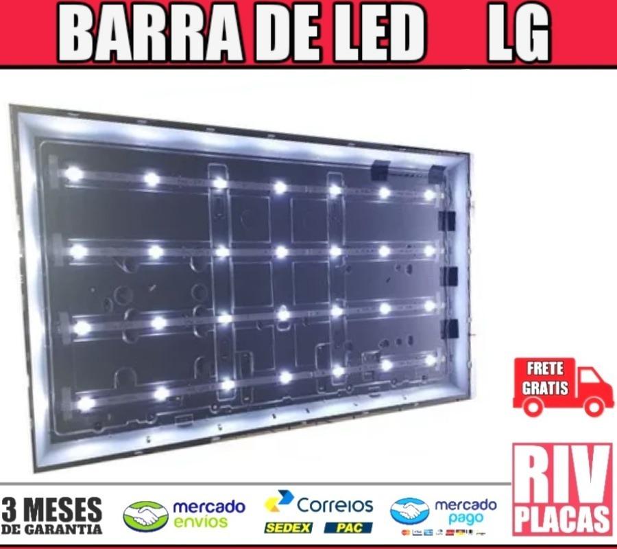 7365430a9 kit barras de led tv lg 49lh6000 - novas 8 barras. Carregando zoom.