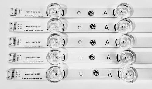 kit barras de led tv lg 50lb5500 50lb5600 50lb6500  original