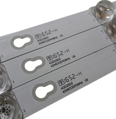 kit barras de led tv tcl l40s4900fs completo novo original