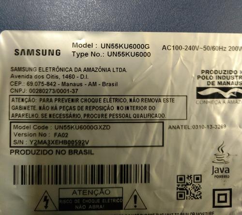 kit barras de led un55ku6000 un55ku6000g un55ku6000gxzd