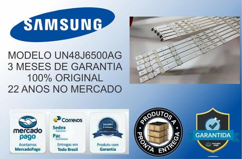kit barras led samsung un48j6500 un48j6500ag