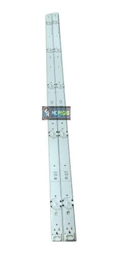 kit barras led tv lg 32lh510 32lh515 32lh560 agf79046701