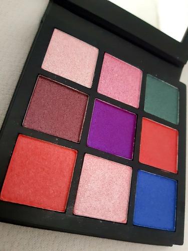 kit base fenty beauty matte + paleta huda beauty gemstone