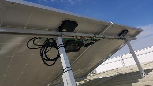 kit bases para 4 paneles solares inclinación 15 a 30 grados