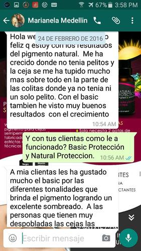 kit basico  3generacion uso personal de cejas- envio gratis