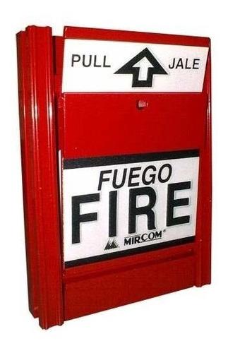 kit basico alarma de incendios instalado