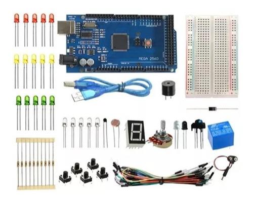 kit básico arduino mega r3 aprendizado automação eletrônica
