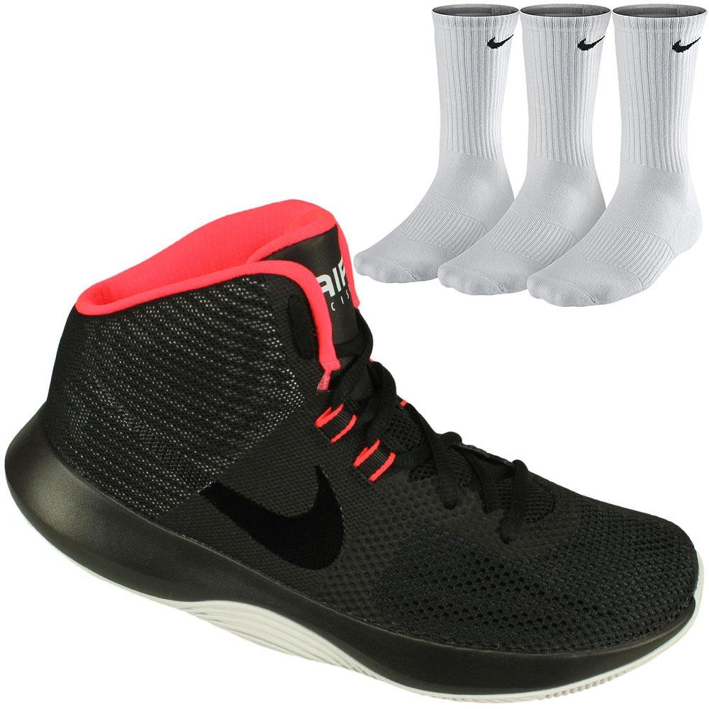 6242a36e7 kit basquete nike tênis air precision unissex+3 meias c.a nf. Carregando  zoom.