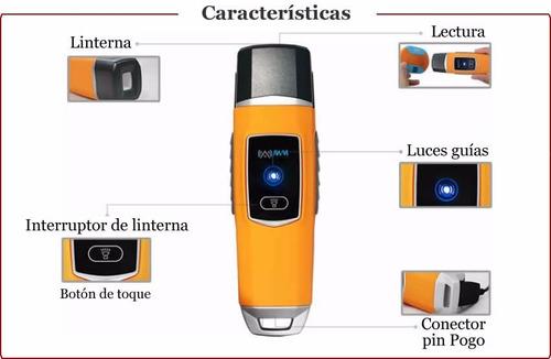kit bastón control de ruta, ronda, vigilancia y seguridad