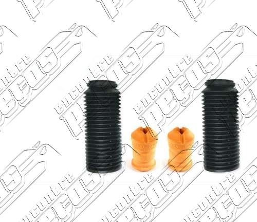 kit batente + coifa do amort. diant audi coupe 2.8 1991/1996