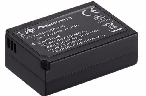 kit bateria + cargador bp-1130 samsung nx300 facturamos