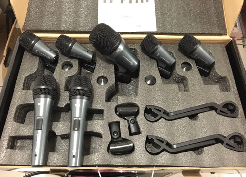 kit batería dmk-7 mics soundbarrier drum nuevo envio gratis