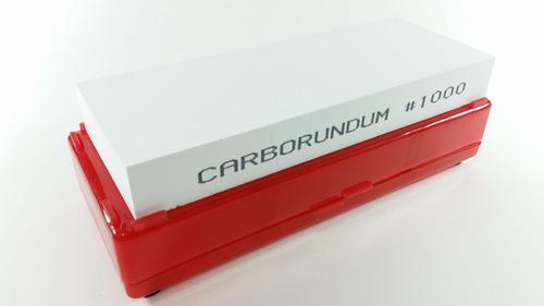 kit  baú afiar 4 pedras carborundum 120 320 1000 4000 8000