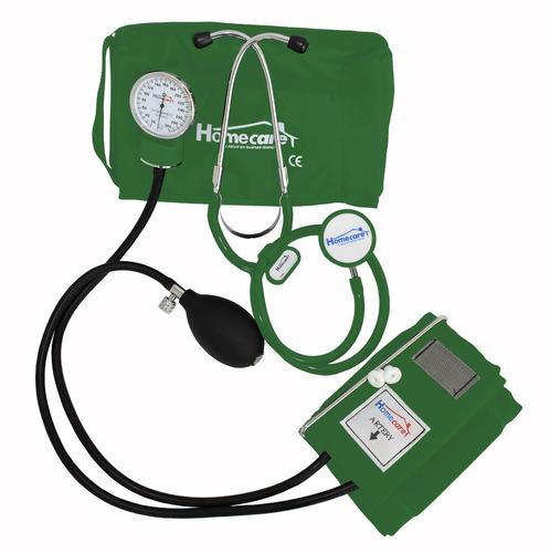 kit baumanometro con estetoscopio doble colores homecare dmh