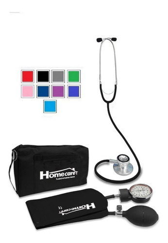 kit baumanometro estetoscopio doble varios colores homecare