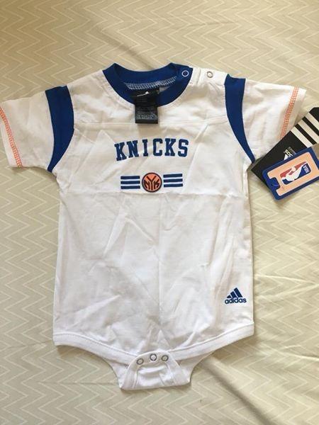buy popular 8ecca 2b192 Kit Bebê - New York Knicks (18 Meses)