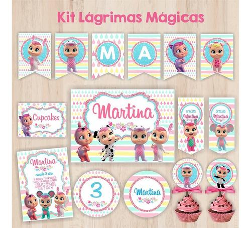 kit bebes llorones - cry babies - lagrimas magicas
