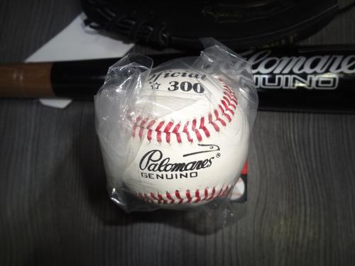 kit beisbol juvenil manopla,bat y pelota  palomares genuino