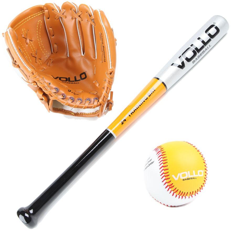 dbae9e2c78728 Kit Beisebol Junior Vollo Baseball Loja Japan Trade - R  184