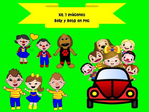 kit bely y beto 7 formatos en png