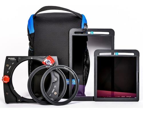 kit benro master holder 100mm fh100m2k2 c/ filtro cpl nd gnd