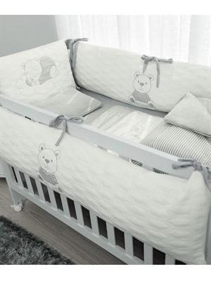 af176ab746 Kit Berço Little Dreamer Cinza - Hug - R  449