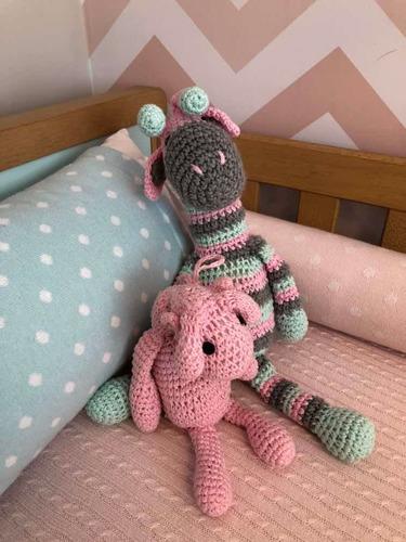 kit berço tricot
