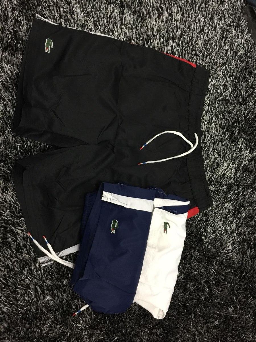 183a837e60372 kit bermuda e camisetas lacoste sport original. Carregando zoom.