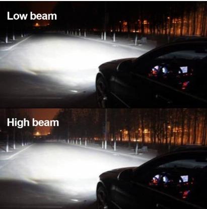 kit bi led cree alta baja h4 12.000lm (no bi xenon) oferta!
