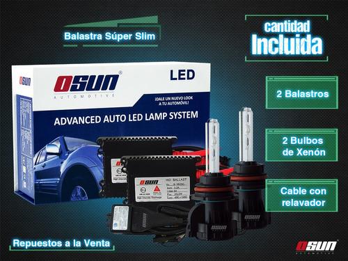 kit bi xenon hid luces faros focos h4 9007 h13 auto camionet