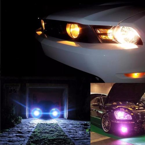 kit bi-xenon motorizado luz en colores automotriz faros hid
