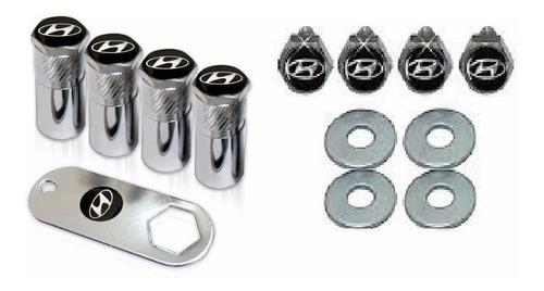 kit bico de pneu capa parafuso hyundai i30 hb20 hb20x hb20s