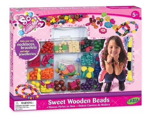 kit bijouterie para armar pulseras y collares juguete cuotas