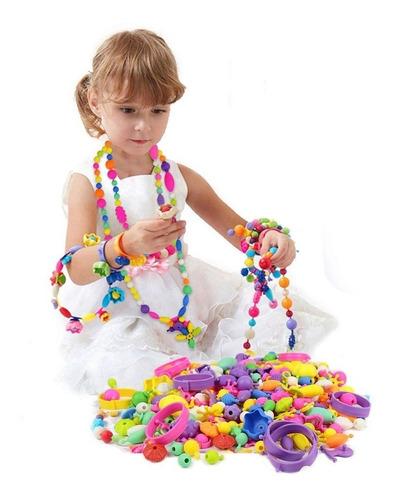 kit bijouterie para armar pulseras y collares juguetes nenas