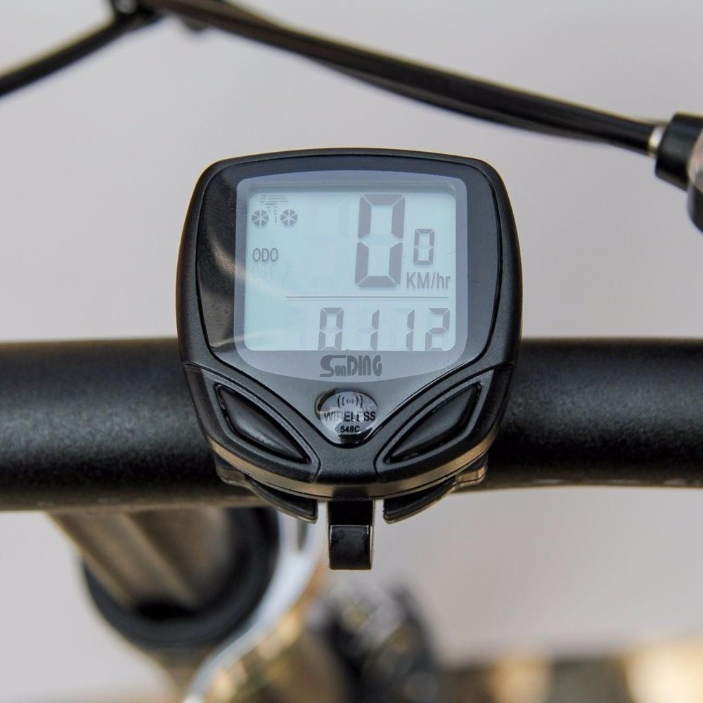 Kit Bike Velocimetro Bolsa Selim Porta Celular Lanterna