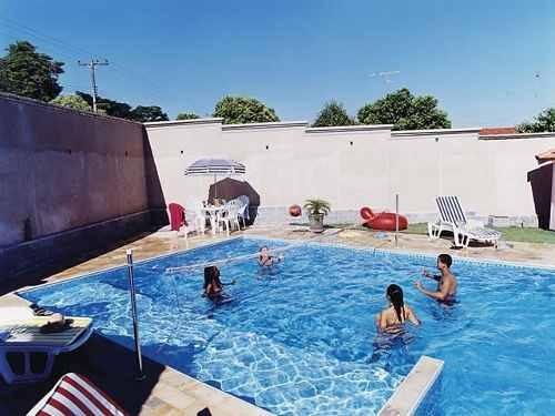 kit biribol rede volei para piscina rede de 4 metros r