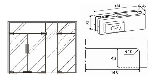 kit bisagra hidraulica 120kg crlaurence