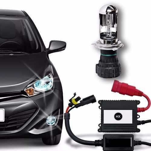 kit bixenon h4 / 9004 / 9007 / h13 en 6000k / 8000k 12v auto