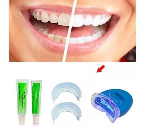 kit blanqueador dental whitelight blanqueamiento de dientes