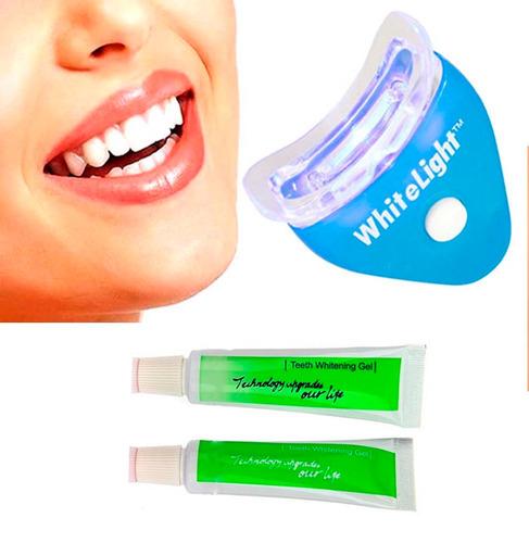 kit blanqueador dientes white light dental /hb importacio