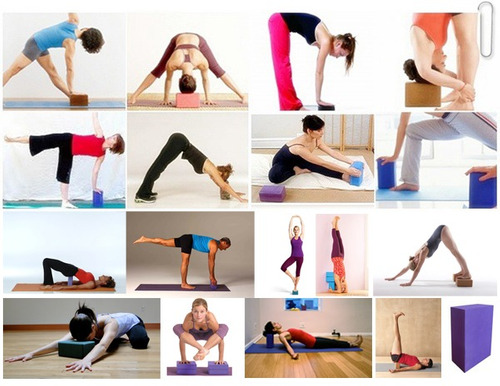 kit bloques block  para yoga ideal para el equilibrio!