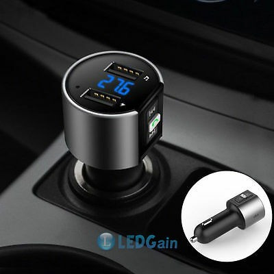kit bluetooth fm transmisor radio inalámbrico adaptador usb