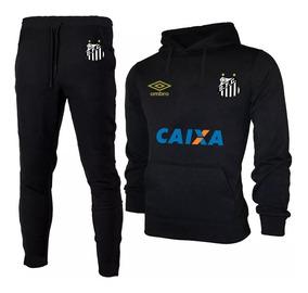 ac7b2ac6372 Kit Blusa + Calça Moletom Santos Futebol Envio Já