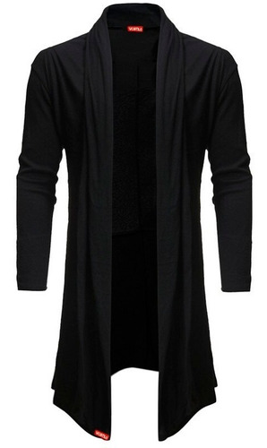 kit blusa de frio cardigan masculino b22 + luva + touca bean