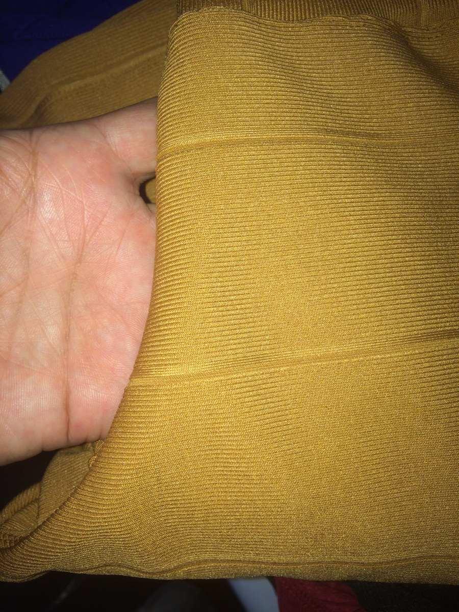 cfa3b31a371ad Kit Blusa Peplum + Calça Flare Bandagem Acetinada - R  149